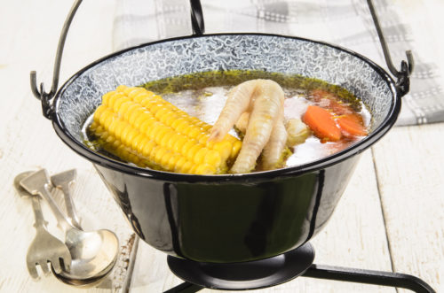 jamaican chicken foot soup  menuculture